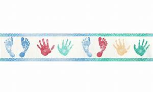 Footprint clipart border - Pencil and in color footprint ...