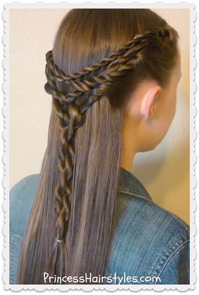 Tie Hairstyle Tangled Twists Hair Hairstyles Styles
