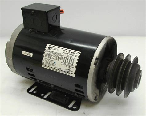 Emerson Electric Motors by Emerson P63czddk 3152 Electric Motor 2hp 1750rpm 208 230