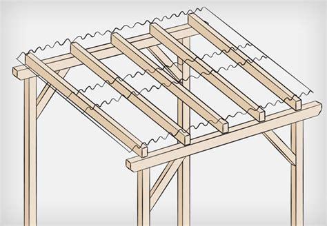 Der Dachstuhl Selbst Anlegen by Dach Bauen Anleitung Gartenhaus Bauen Wunderbare