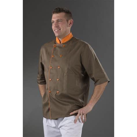 acheter veste de cuisine veste de cuisine orange mobilier décoration