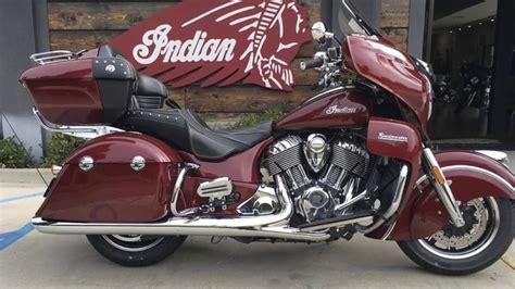 New 2017 Indian Motorcycle® Roadmaster® Burgundy Metallic