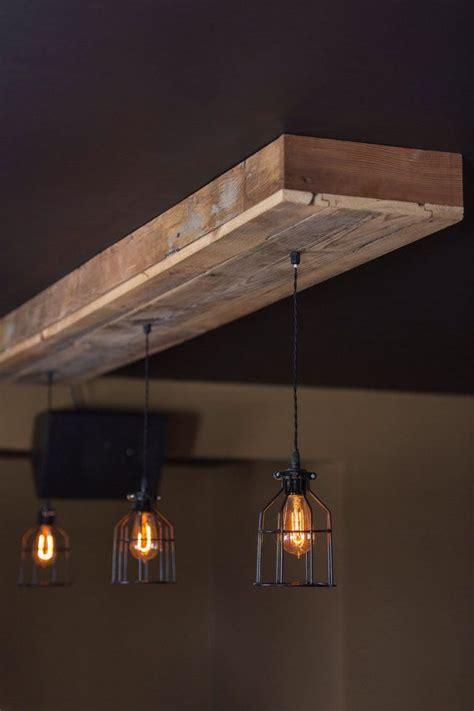 reclaimed barn wood light fixtures bar restaurant home