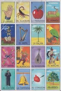 Loteria Mexican Bingo Cards Printable