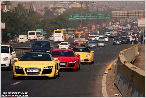 pictures mumbai supercar show drive  page