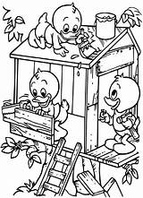 Coloring Treehouse Bestcoloringpagesforkids sketch template