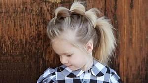 Coiffure Queue De Cheval : coiffure enfant queue de cheval ~ Melissatoandfro.com Idées de Décoration