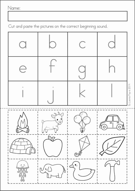 Cut And Paste Worksheets For Kindergarten Free  Free Preschool Fine Motor Skills Worksheets