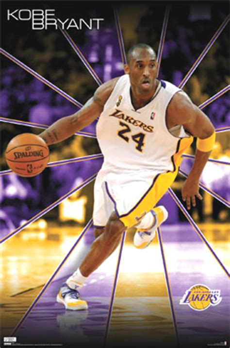 kobe bryant poster poster los angeles lakers player