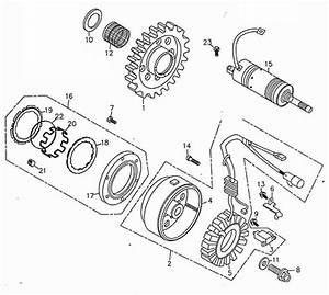 generator starting motor adly atv 300s interceptor With adly wiring