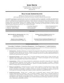 healthcare manager resume objective healthcare administration resume by c coleman