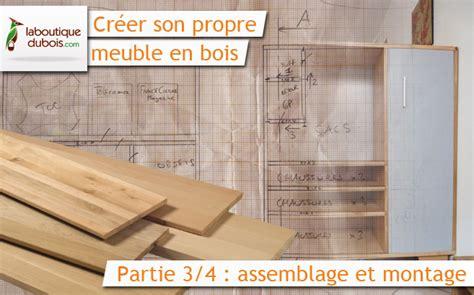 assemblage meuble cuisine créer propre meuble en bois avec laboutiquedubois com 3 4 le du bois