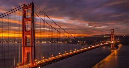 4k California Francisco San Ultra Bridge Wallpapers