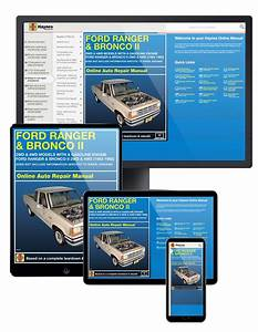 Ford Ranger And Bronco Ii 2wd  U0026 4wd  83