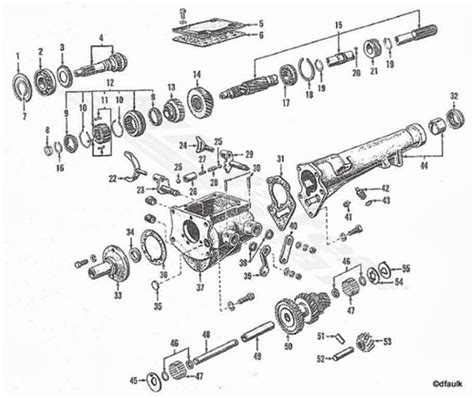 Hed Speed Transmission Diagram Drawing Ford