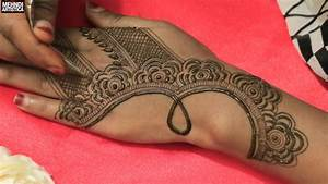 New Floral Arabic Mehndi Design for Hands 2017 | Creative ...
