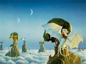 Sfondi Fantasy - Grago e Draghi Sfondi Desktop Magia elfo ...