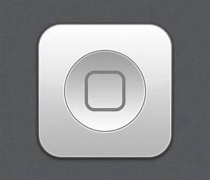 Home button White - Flurry style by Lukeedee on DeviantArt