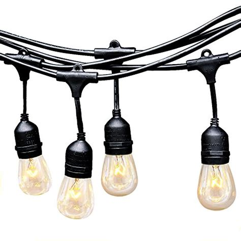 eagwell outdoor string lights heavy duty hanging patio