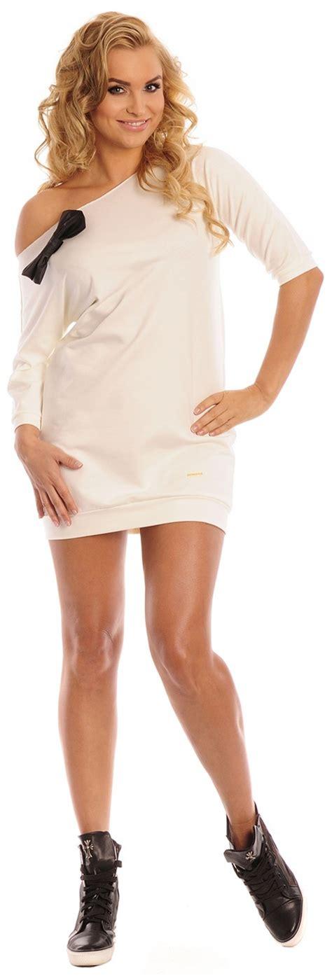 Capri Moda * Womenu0026#39;s Cocoon Jumper Bow Dress Tulip Tunic Top S/M u2013 L/XL * 339   eBay