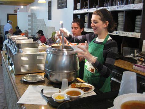 soup kitchen volunteer volunteerism creates sense of purpose boosts self