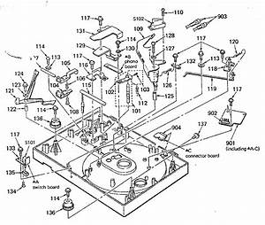 Sony Sony Stereo Turntable System Parts