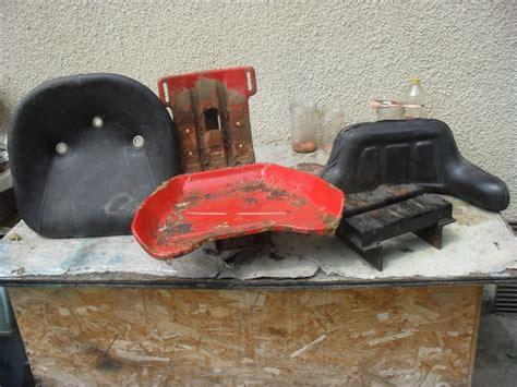 siege tracteur renault restauration de mon renault d35 de 1959