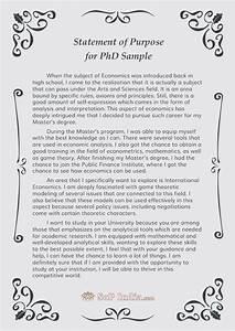 History statement of purpose