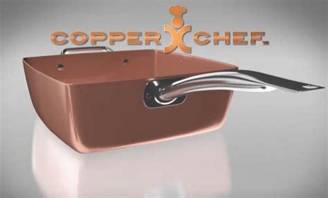 copper chef square pan    work