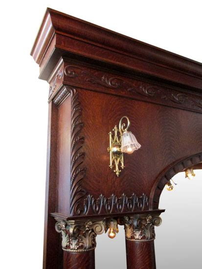 single arched  front bar wooden nickel antiques