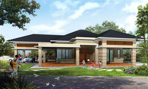 story house plans single storey house plans