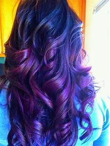 Purple Hair Color Ideas - Shades Of Purple