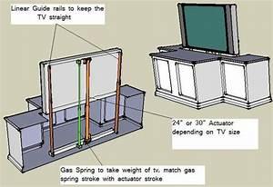 Woodwork define, Diy Tv Lift Cabinet Plans