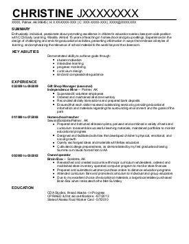 19272 child care resume find graded alaska palmer childcare resume exles great