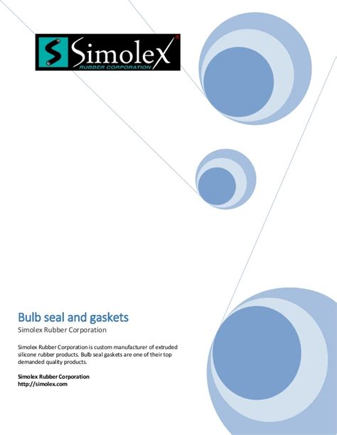 bulb seal shaped silicone rubber gaksets and seals