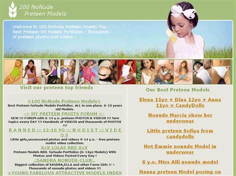 100 Nonude Preteen Models Top