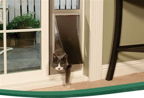 Doggie Door Insert For Patio Door by Power Pet Electronic Pet Door For Sliding Glass Patio