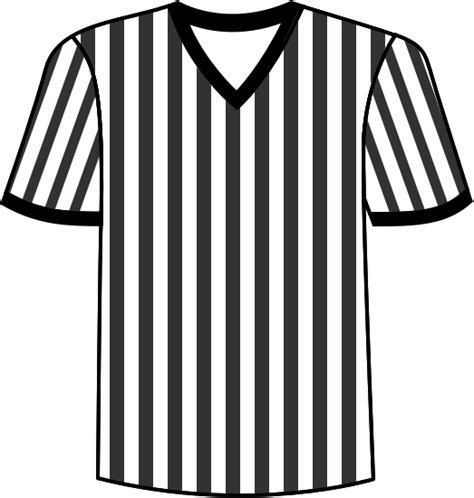 referee shirt clipart