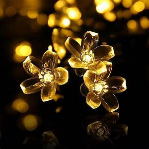Guirlande Lumineuse Fleur : guirlande lumineuse fleurs 2017 avec mled guirlande lumineusesantrix des photos ~ Teatrodelosmanantiales.com Idées de Décoration