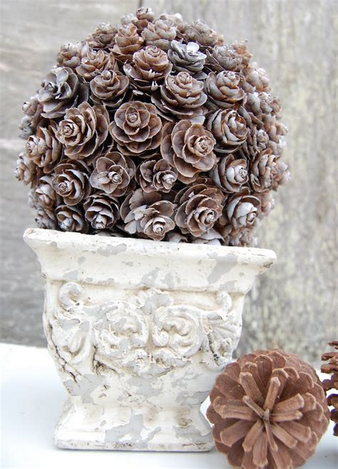 pinecone decor 40 creative pinecone crafts for your holiday decorations architecture design
