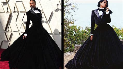 Was Told Post This Here Recreated Billy Porter