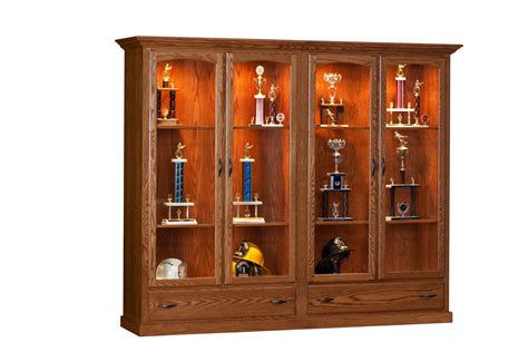 Dining Room  Case Goods  Curio Cabinets  Trophy Case