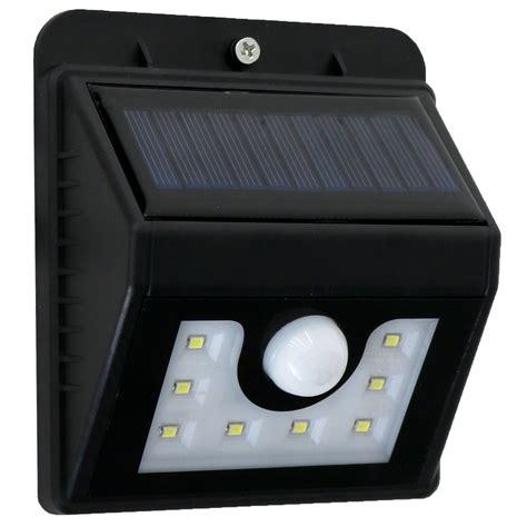 waterproof wall mounted outdoor solar motion sensor led