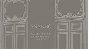 Papier Peint Ananbo : ananb papier peint panoramique imprim la collection boiseries sera en vente au mois de ~ Melissatoandfro.com Idées de Décoration