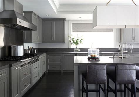 Gray Kitchen Cabinets  Contemporary  Kitchen  Mar