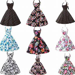 Was Ist Retro Style : vintage style swing 1950s 1960s housewife retro pinup rockabilly evening dress ebay ~ Markanthonyermac.com Haus und Dekorationen