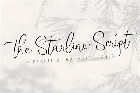Beautiful Scripts And Fonts by Starline Beautiful Script Fonts Script Fonts