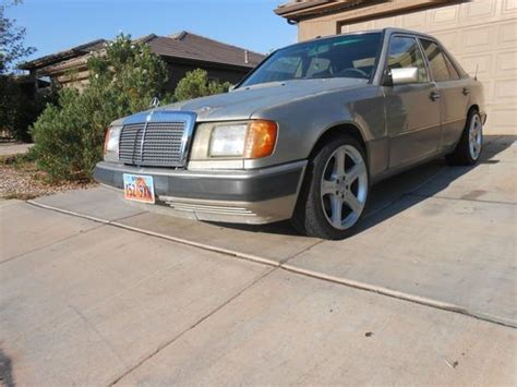 purchase used 1992 mercedes 300d w124 body with om602