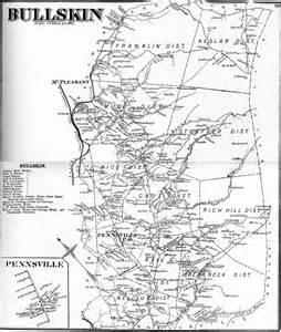 Fayette County PA Township Map