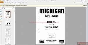 Michigan Wheel Loaders 55a Ii Belgium Parts Catalogue